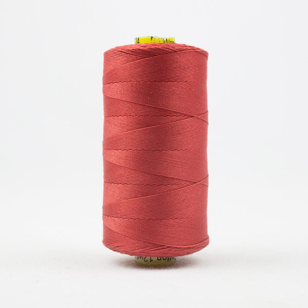 SP24 - Spagetti 12wt Egyptian Cotton Soft Red Thread - wonderfil-online-uk