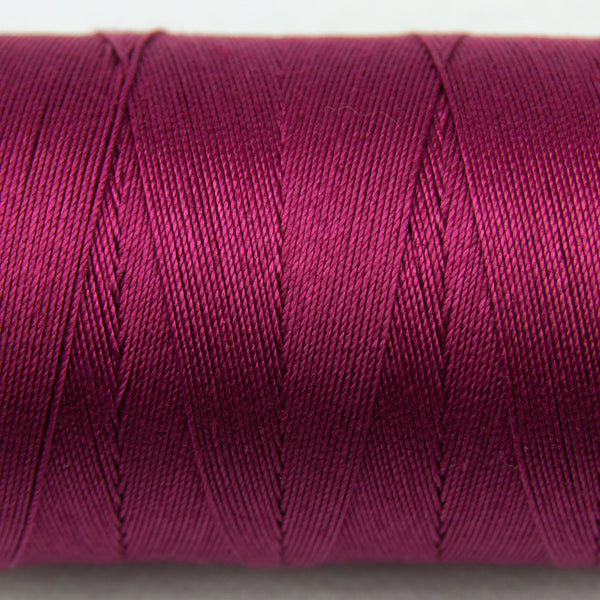 SP31 - Spagetti 12wt Egyptian Cotton Soft Burgundy Thread - wonderfil-online-uk