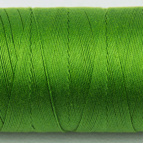 SP33 - Spagetti 12wt Egyptian Cotton Fresh Lime Thread - wonderfil-online-uk