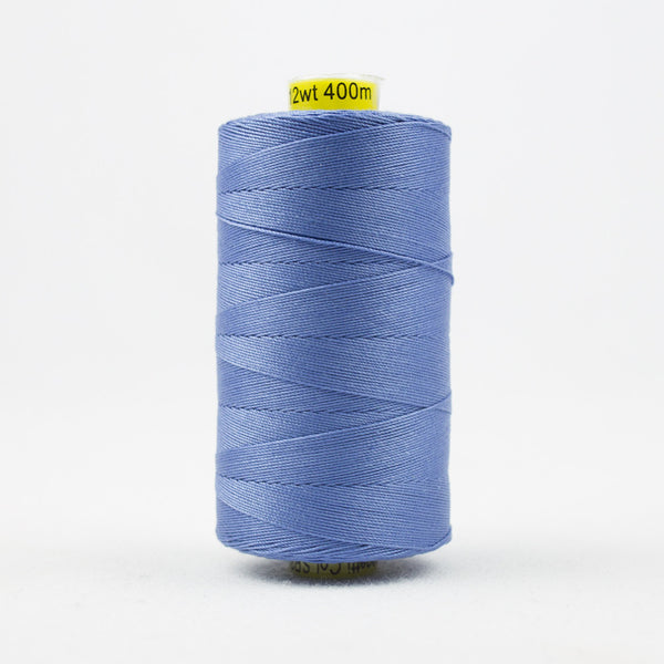 SP34 - Spagetti 12wt Egyptian Cotton Clear Blue Thread - wonderfil-online-uk