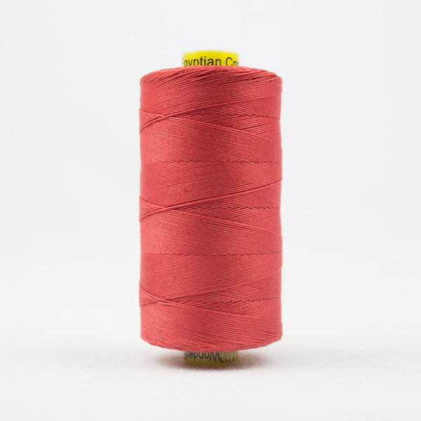 SP35 - Spagetti 12wt Egyptian Cotton Coral Thread - wonderfil-online-uk
