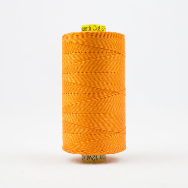 SP40 - Spagetti 12wt Egyptian Cotton Orange Thread - wonderfil-online-uk
