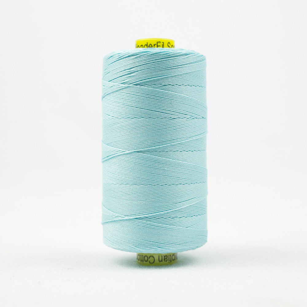 SP44 - Spagetti 12wt Egyptian Cotton Aqua Thread - wonderfil-online-uk