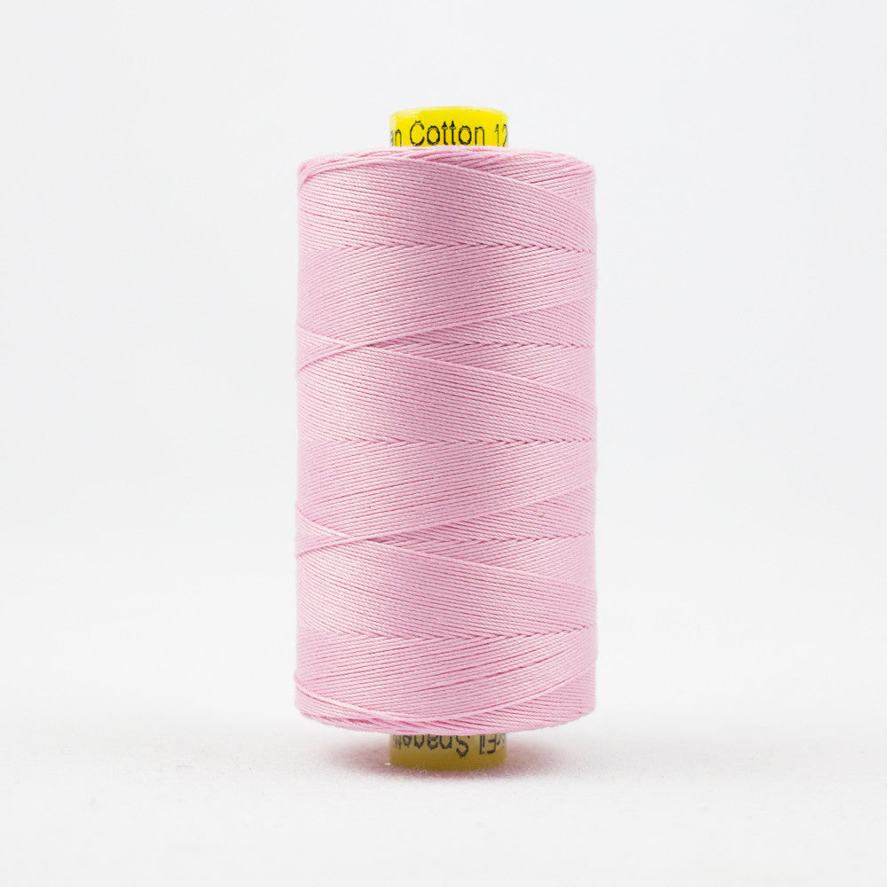 SP46 - Spagetti 12wt Egyptian Cotton Baby Pink Thread - wonderfil-online-uk