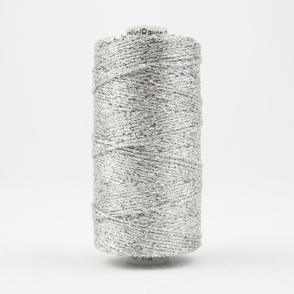 SX1 - Sizzle Rayon and Metallic Silver Thread - wonderfil-online-uk