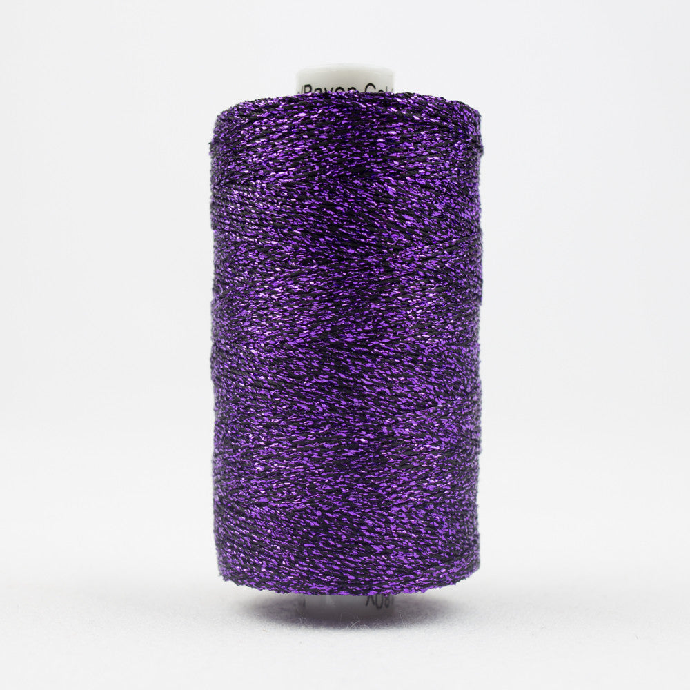 SX35 - Sizzle Rayon and Metallic Purple Thread - wonderfil-online-uk