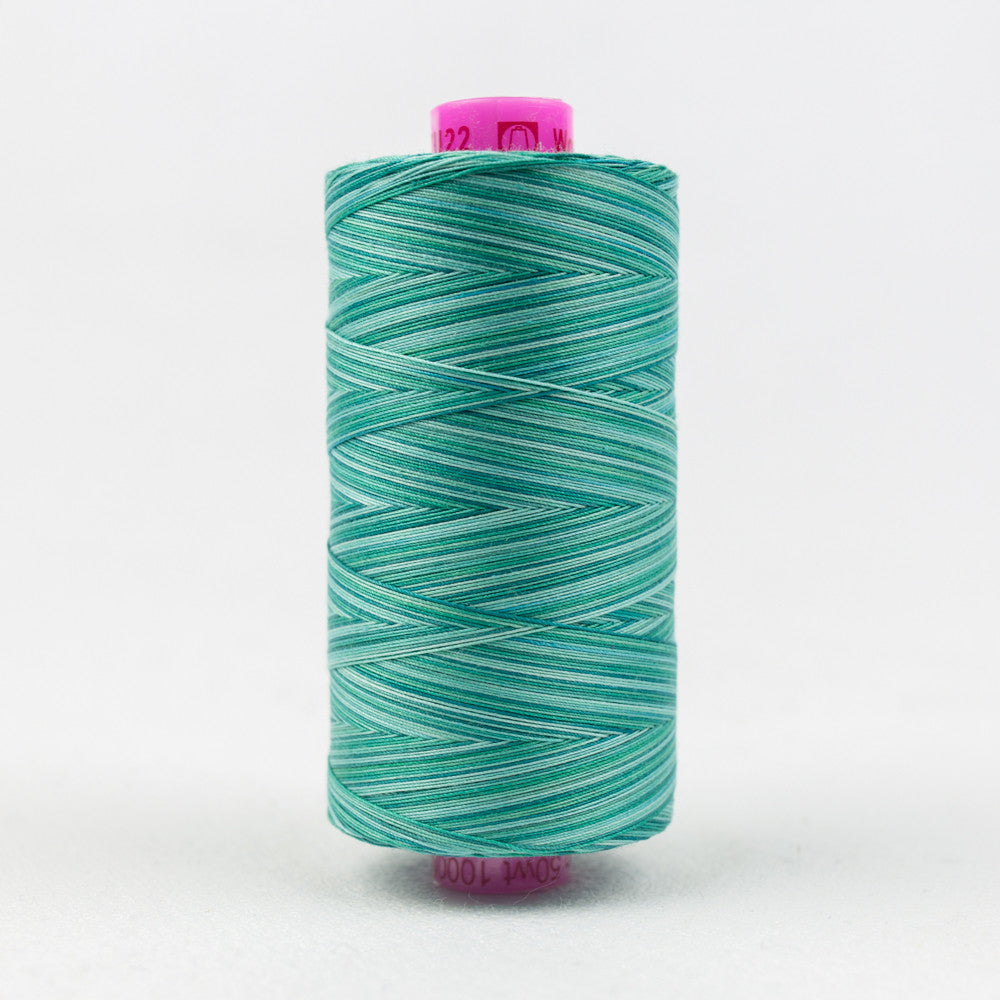 TU22 - Tutti 50wt Egyptian Cotton Peacock Thread - wonderfil-online-uk