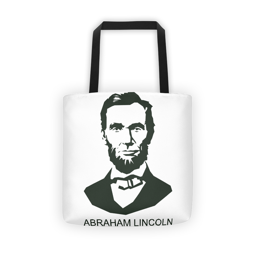 Lincoln Abraham Tote bag