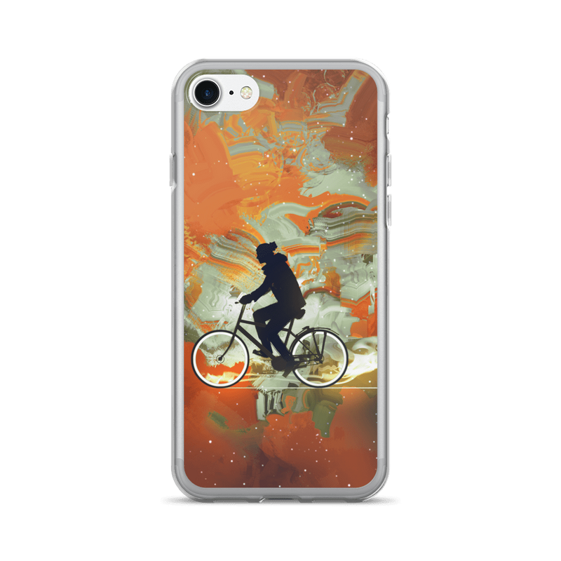 Bicycle Universe iPhone case