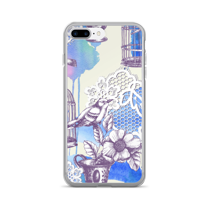 Bird Romance iPhone case
