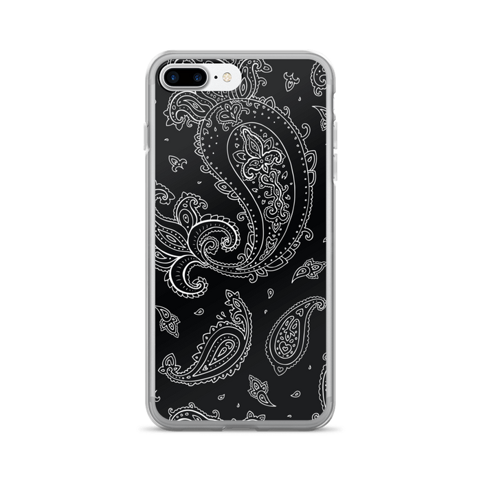 Black Paisely iPhone case