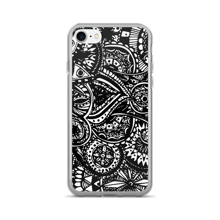 Black Veritas iPhone case