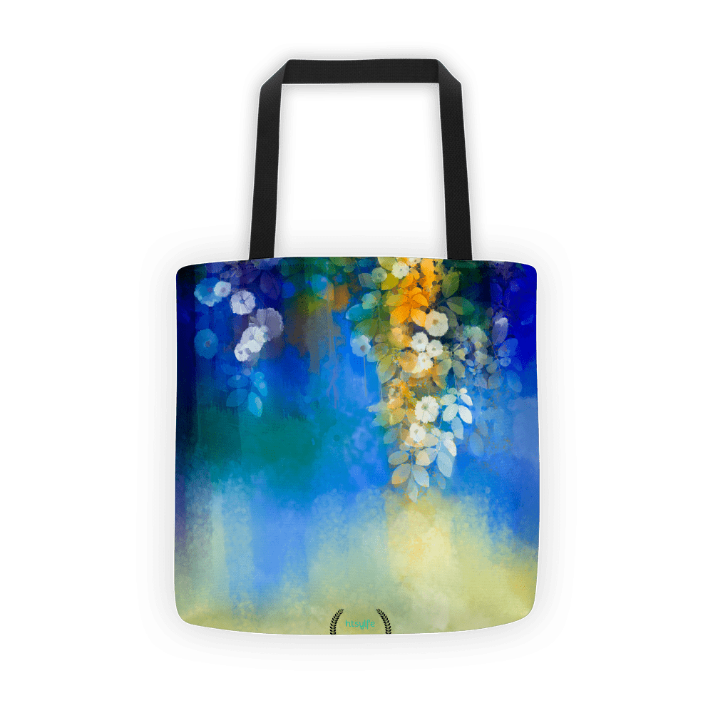 Blue lush Tote bag