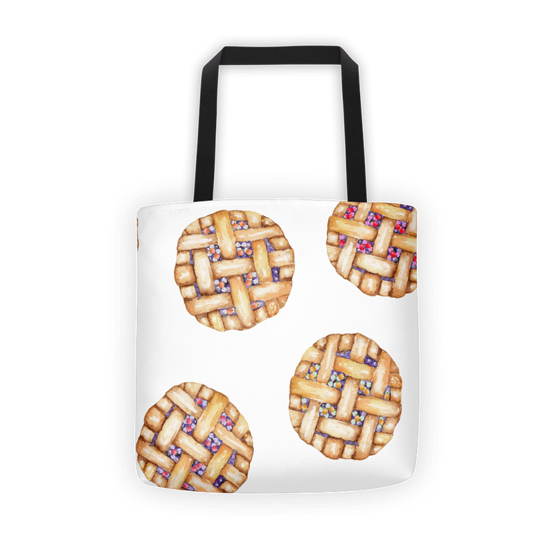 Blueberry pie Tote bag