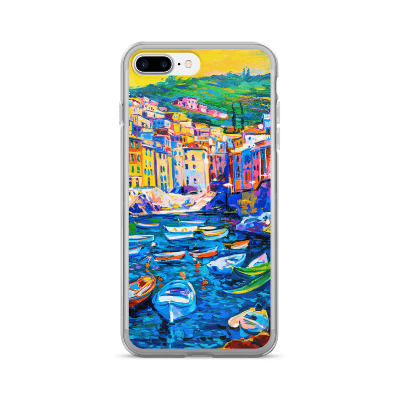 Boat town iPhone case