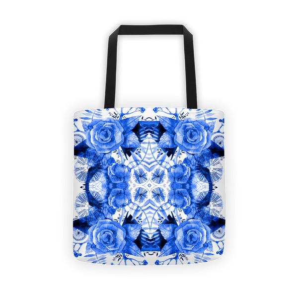 Boherian floral Tote bag