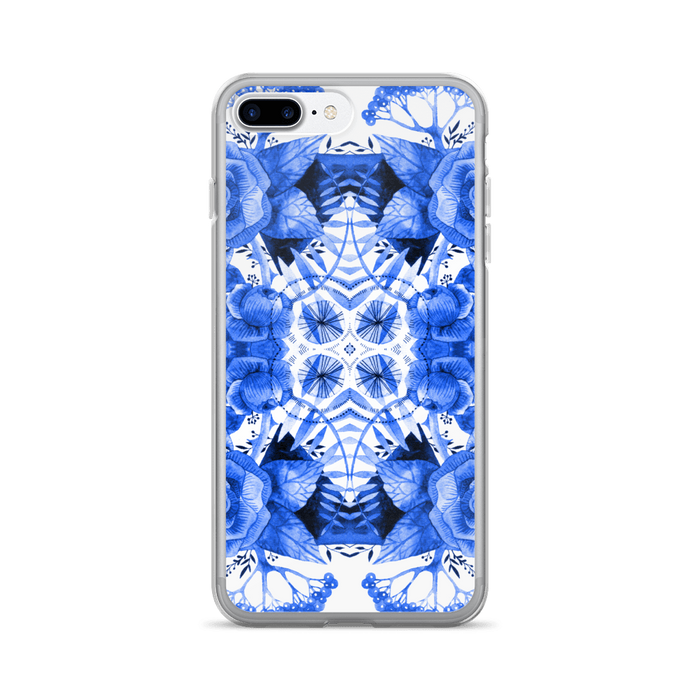 Boherian floral iPhone case