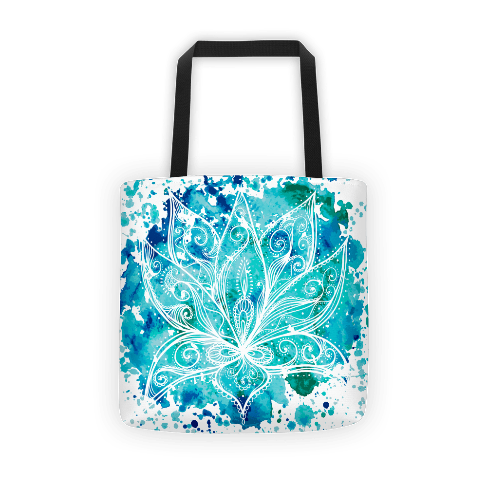Boho lotus Tote bag