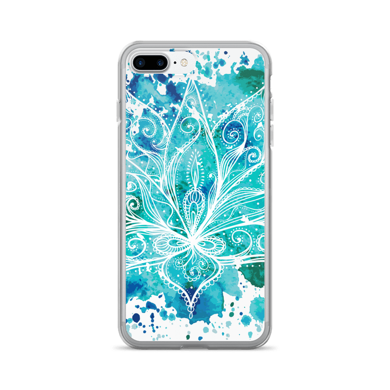 Boho lotus iPhone case