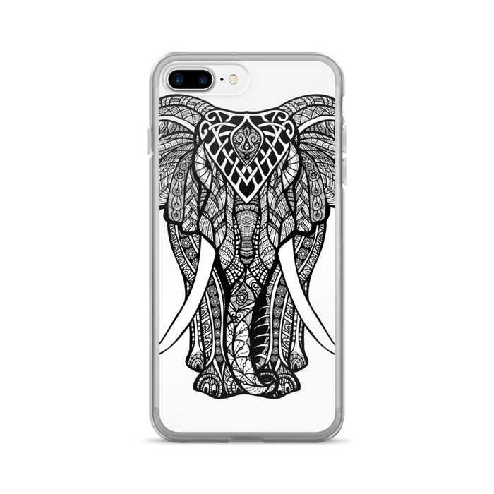 Charging elephant iPhone case