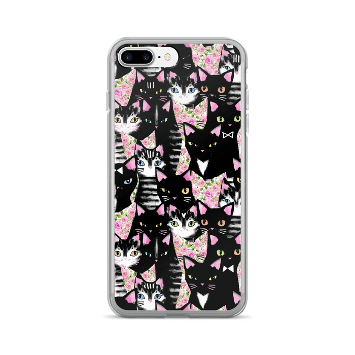 Cat collage iPhone case