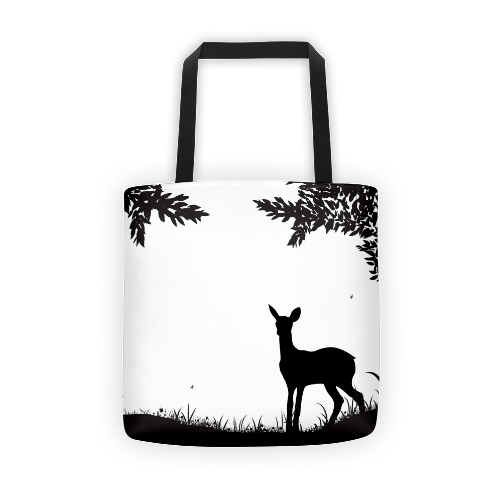 Lost deer Tote bag