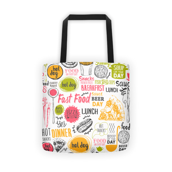 Food life Tote bag