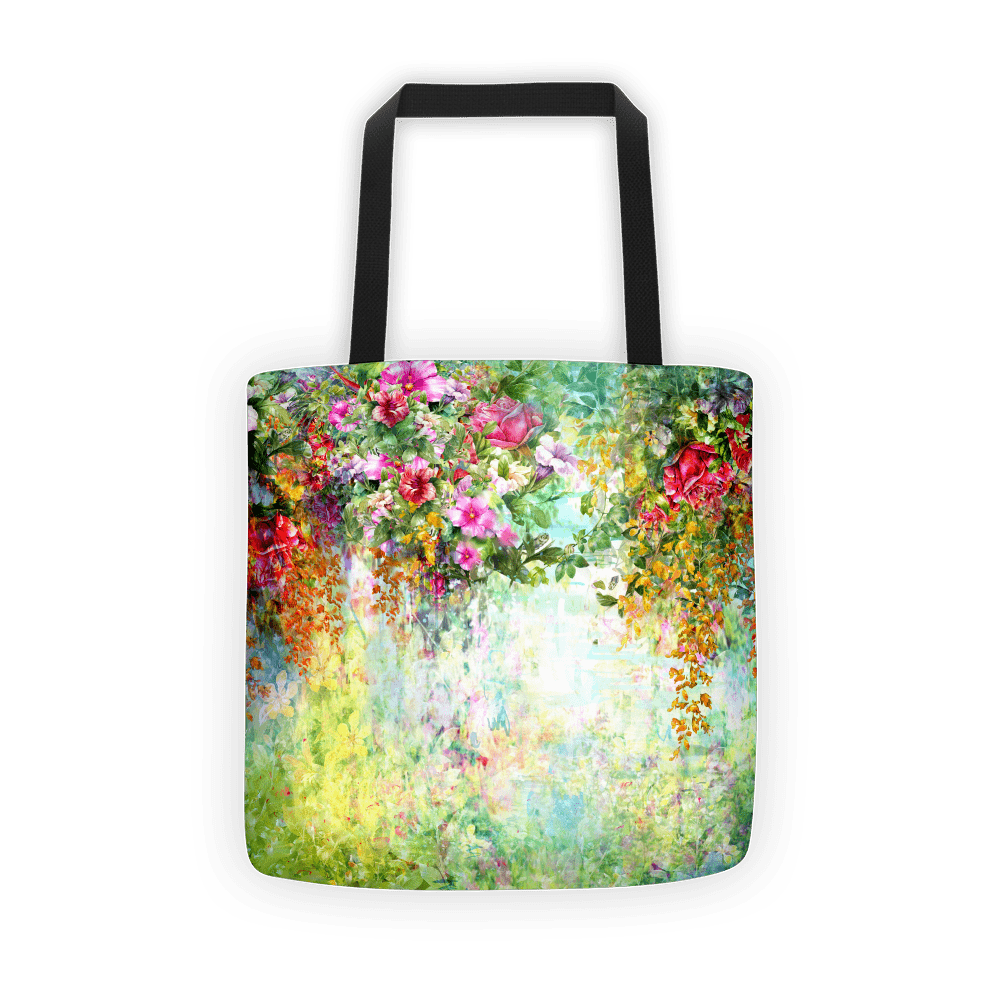 Green lush Tote bag
