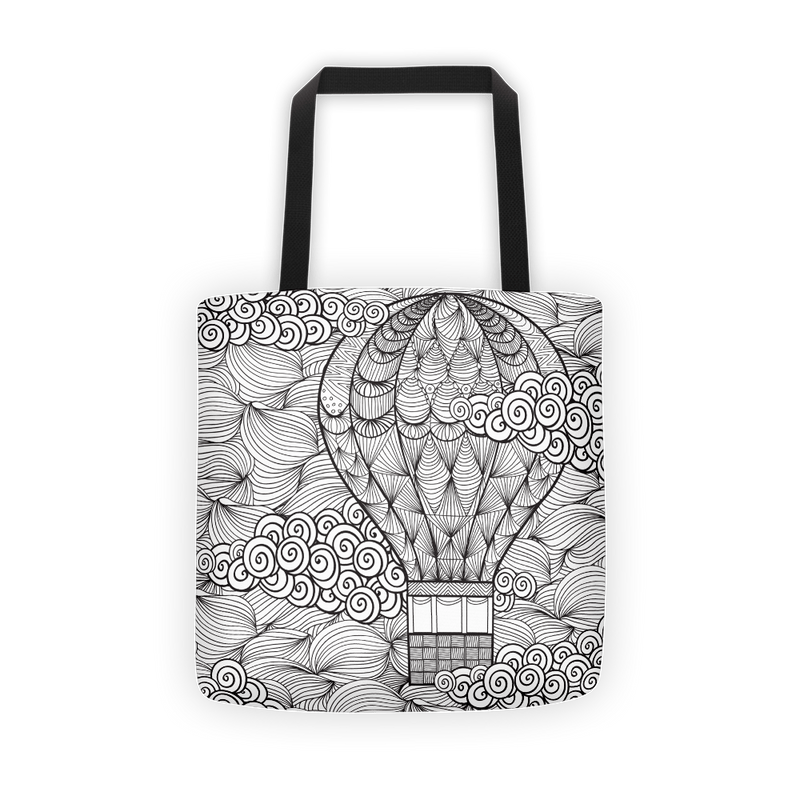 Hot air balloon Tote bag