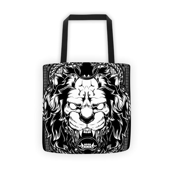Lion abyss Tote bag