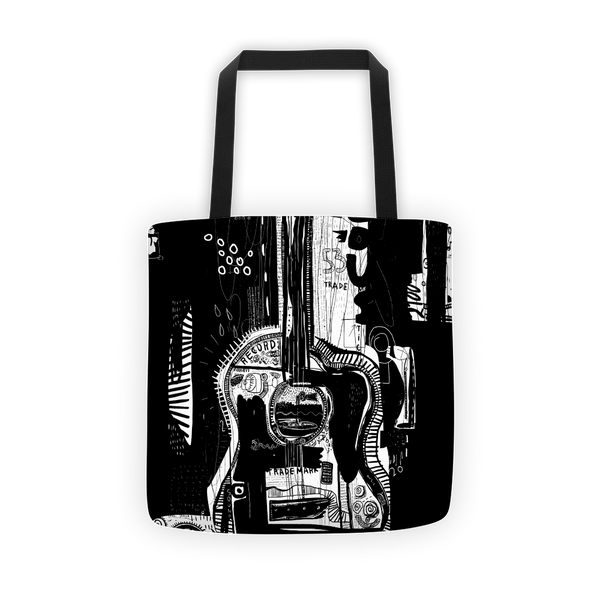 Symbolix guitar Tote bag
