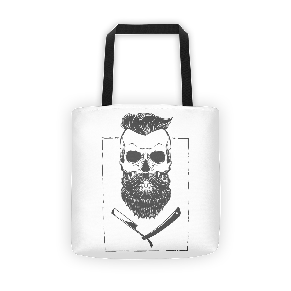 The Beard Tote bag