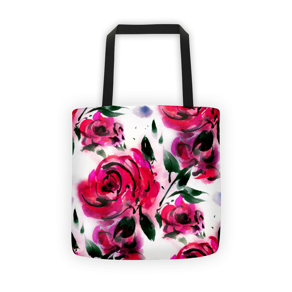 Rose petal Tote bag