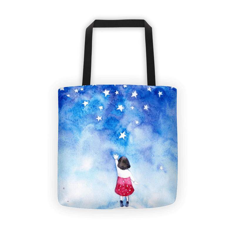 Water star Tote bag