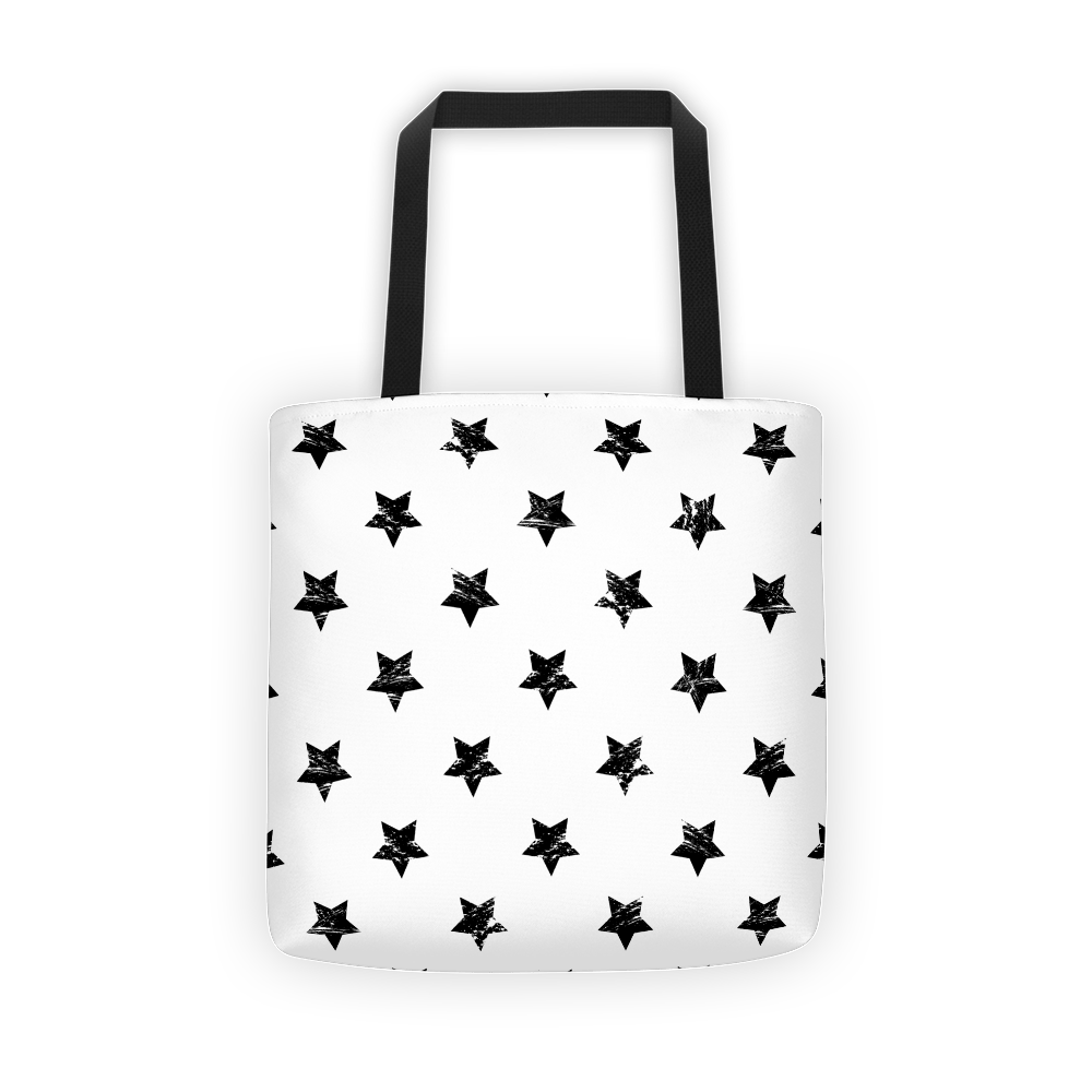 White star Tote bag