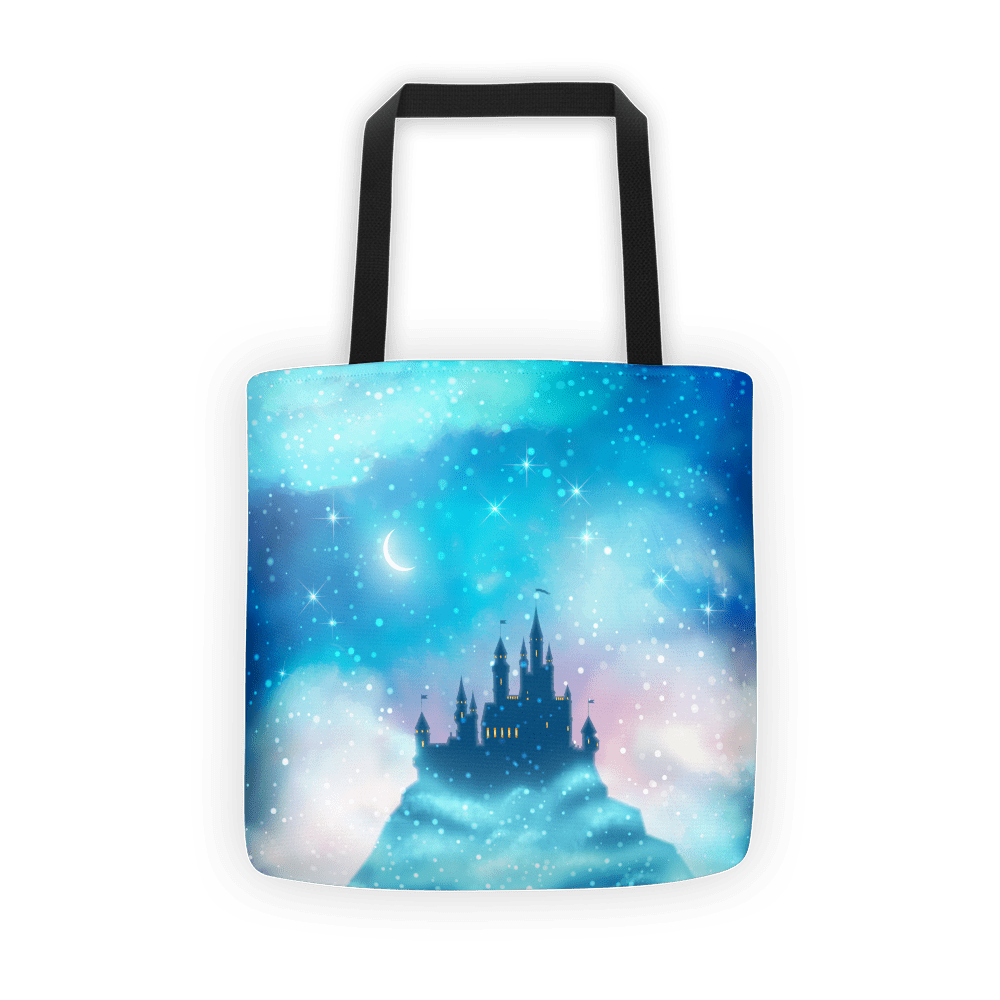Enchanted castle Tote bag