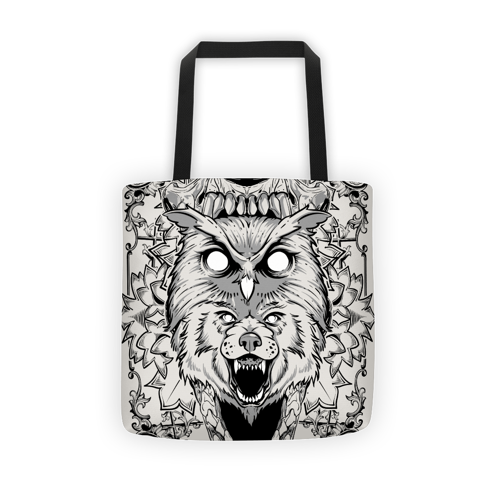 Wolf's eyes Tote bag