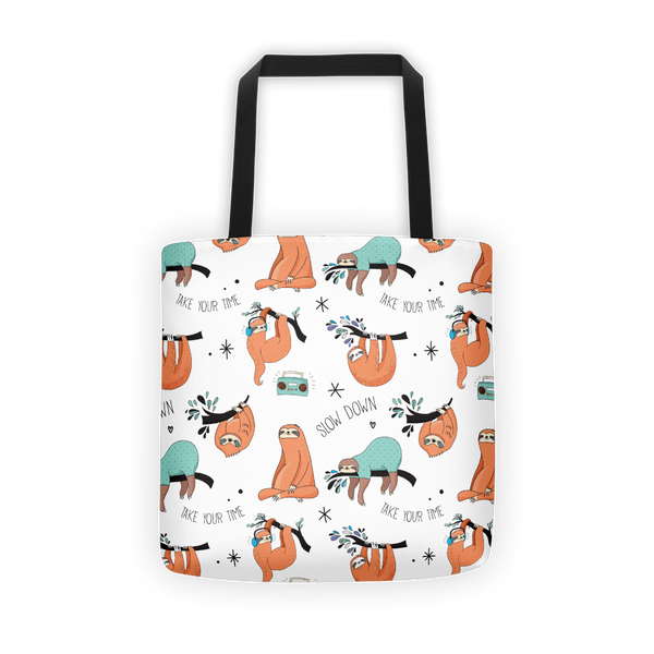 World of sloths Tote bag