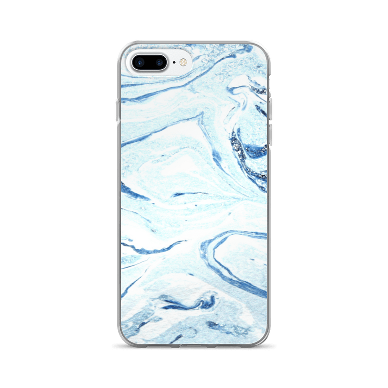 Aqua marble iPhone case
