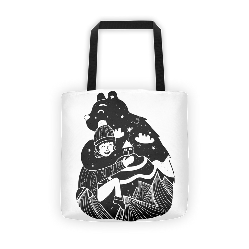 Bear hug Tote bag