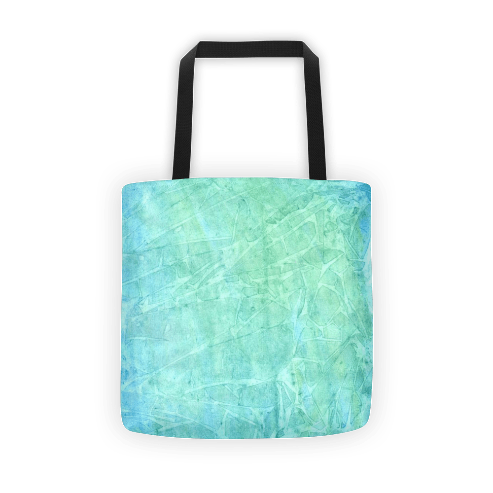 Blue watercolor Tote bag