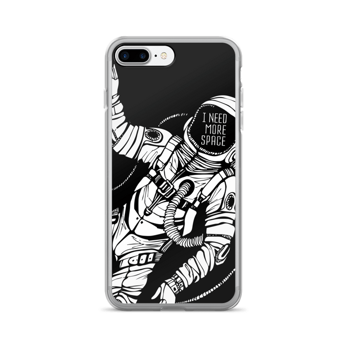 Classic spaceman iPhone case