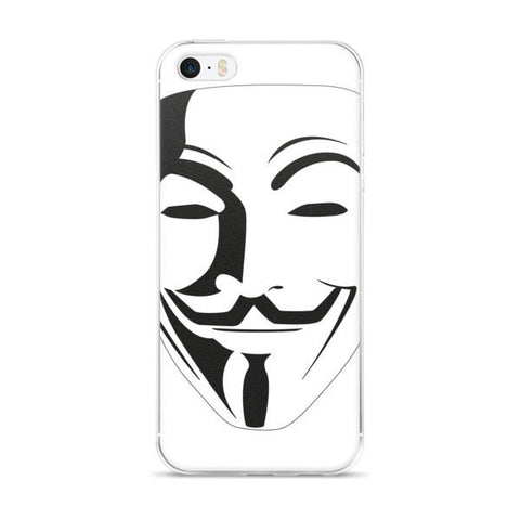 Anon white iPhone case