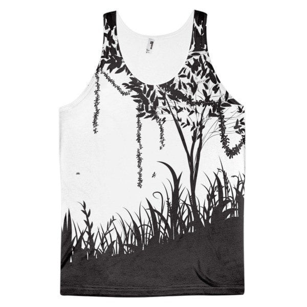Rain forest Classic fit men's tank top - Hutsylife