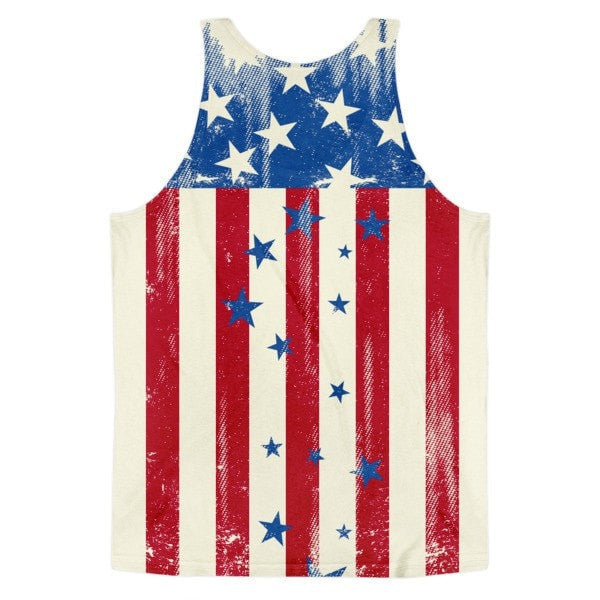 All over print - Patriot Rain Classic fit men's tank top - Hutsylife - 2