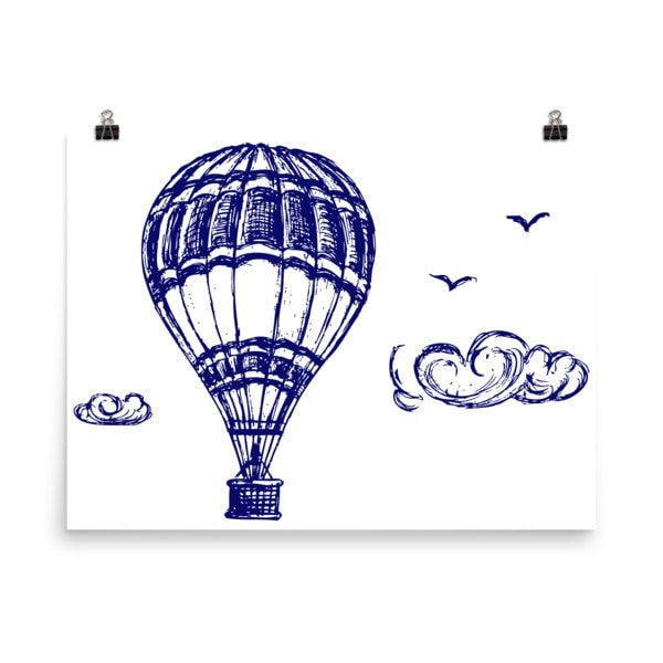 Hot air Poster - Hutsylife - 6