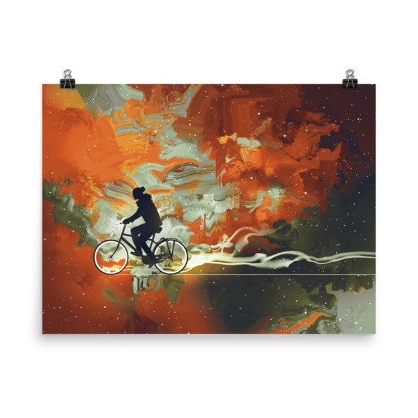 Bicycle man Poster - Hutsylife - 6