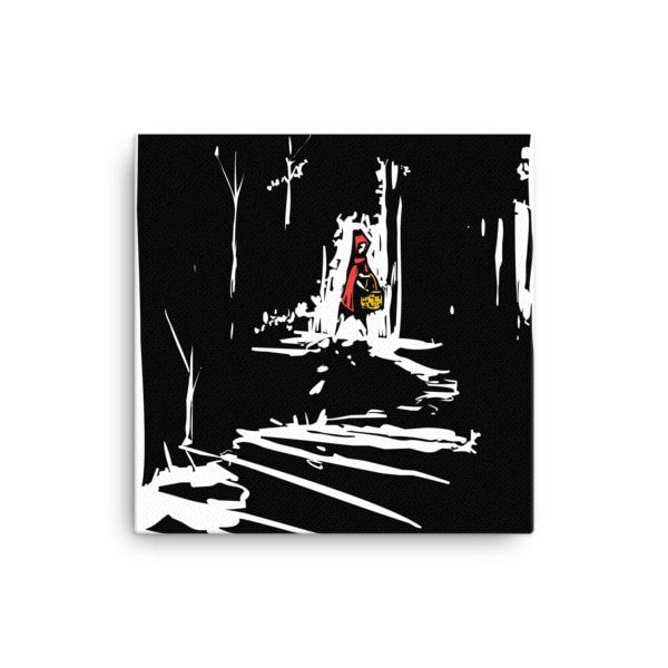 Red riding hood Canvas - Hutsylife - 1