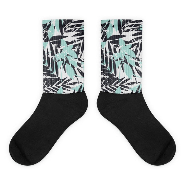 Wise shank Black foot socks