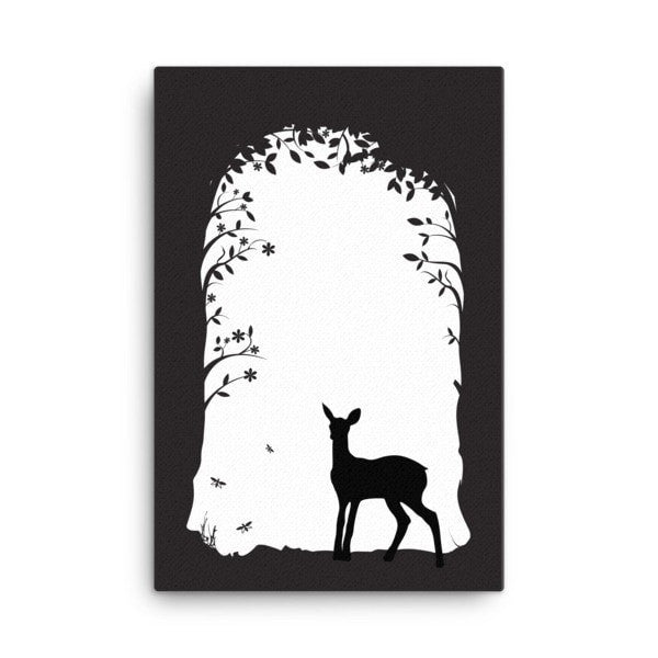 Deer's tunnel Canvas - Hutsylife - 4
